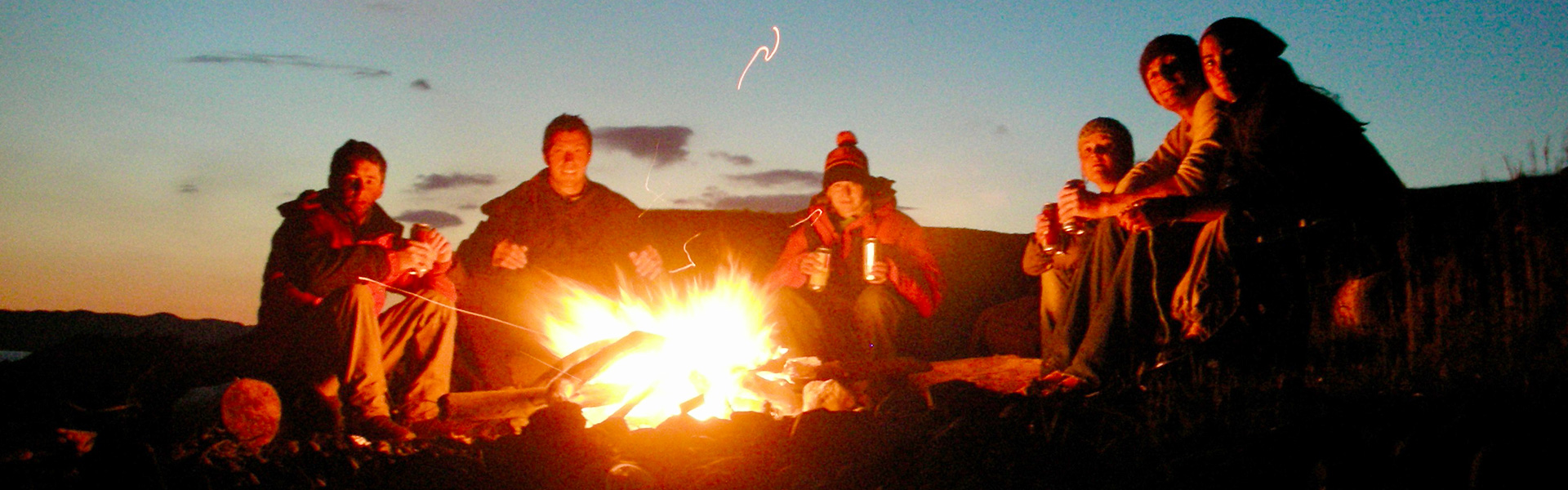 Our Wild Camping Holiday Base Camp   Wild Camping   Sea ...